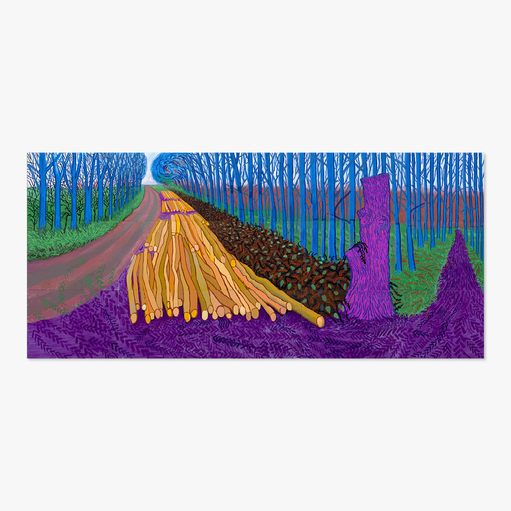 DAVID HOCKNEY 003 Winter Timber 2009