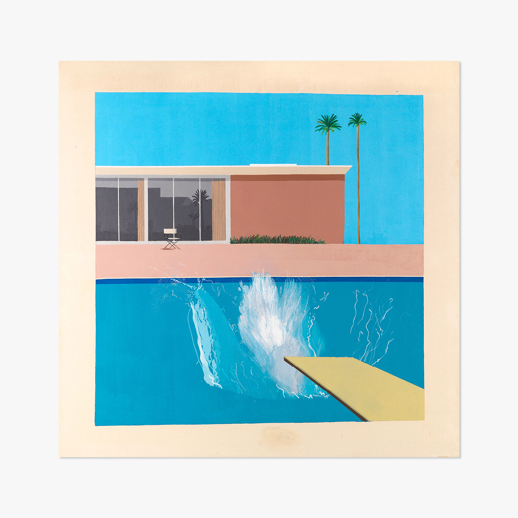 DAVID HOCKNEY 002 A Bigger Splash